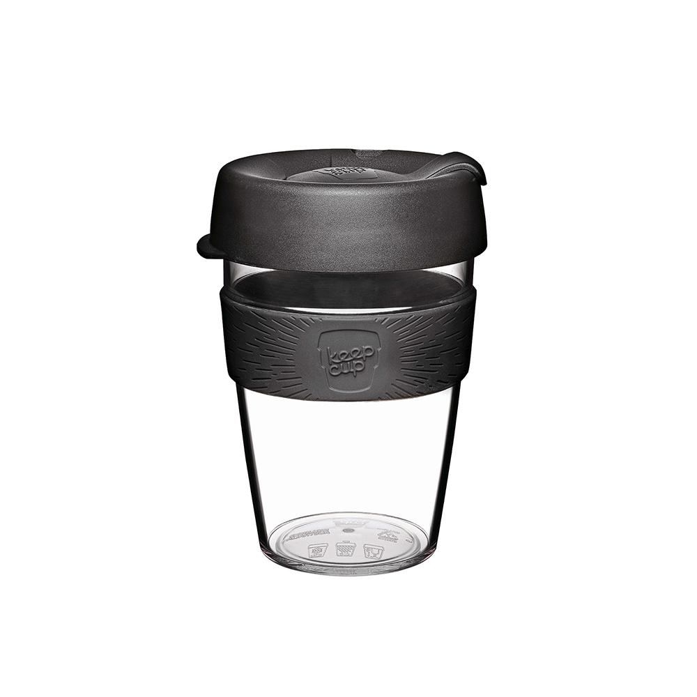 澳洲 KeepCup 隨身咖啡杯 輕漾系列 M - 黑色幽默