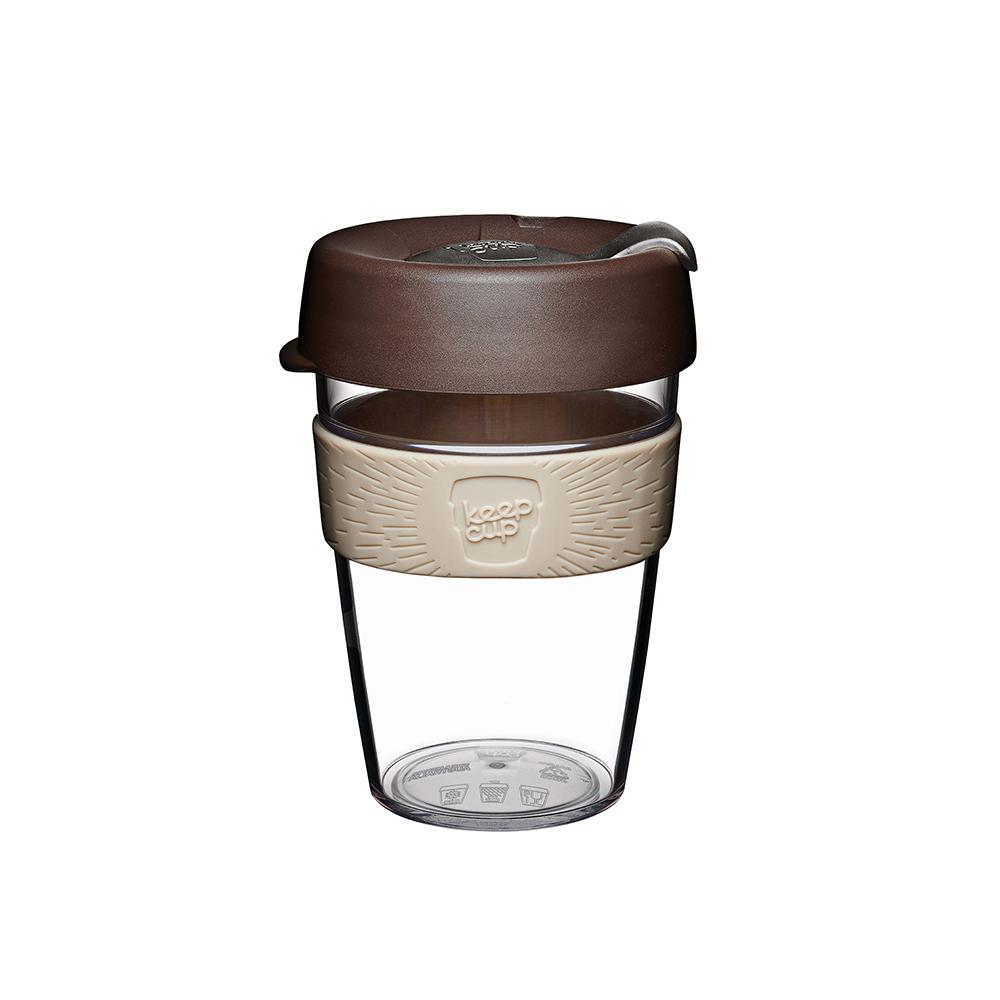 澳洲 KeepCup 隨身咖啡杯 輕漾系列 M - 巧克力摩卡