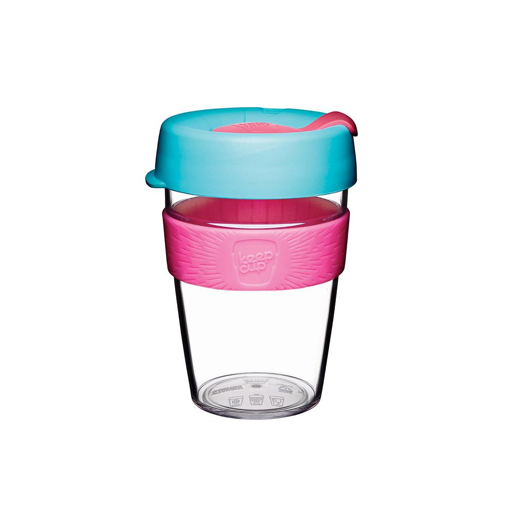 澳洲 KeepCup 隨身咖啡杯 輕漾系列 M - 倒映櫻