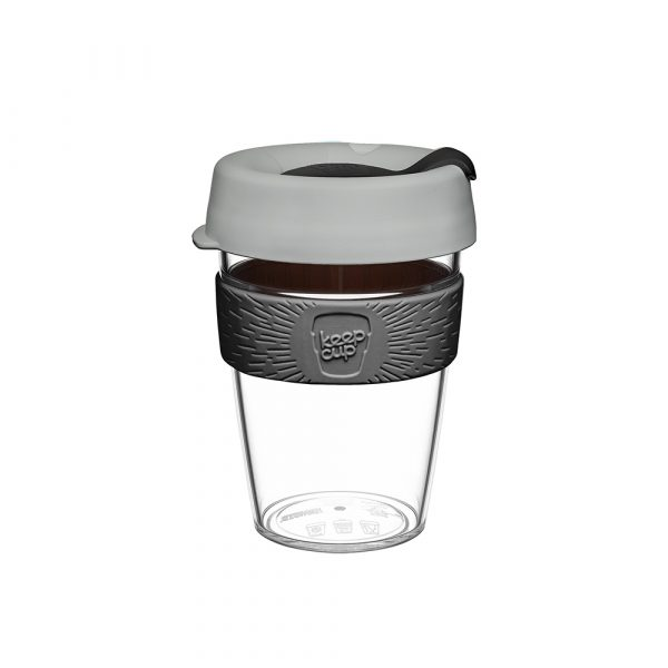澳洲 KeepCup 隨身咖啡杯 晶透系列 M - 倫敦霧雨
