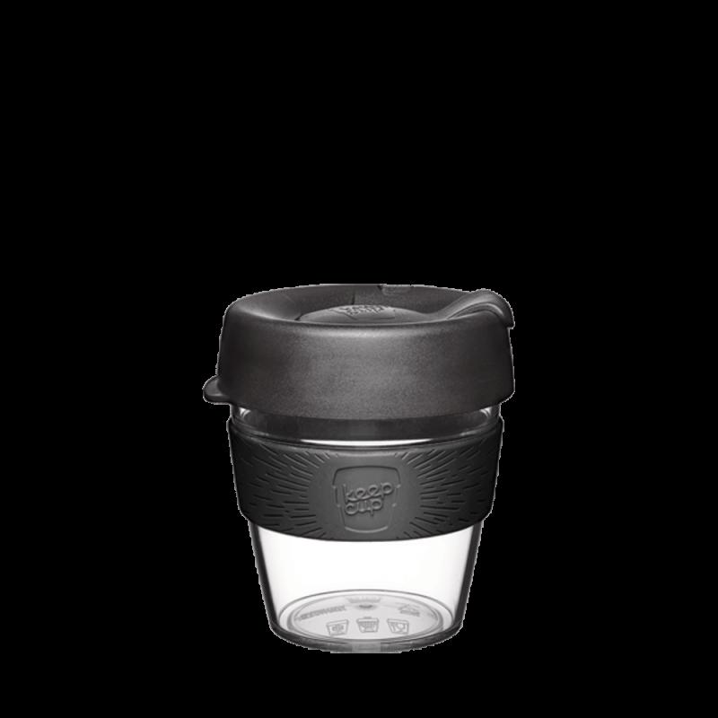澳洲 KeepCup 隨身咖啡杯 輕漾系列 S - 黑色幽默