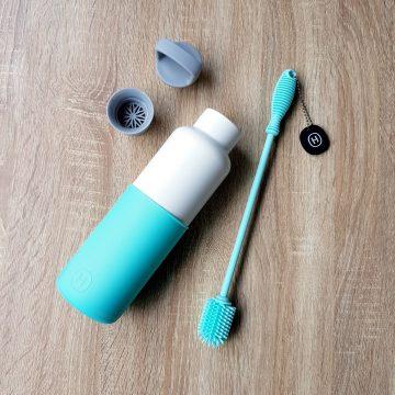 美國 HYDY 時尚保溫水瓶超值組 水瓶+清潔刷 (顏色任選)