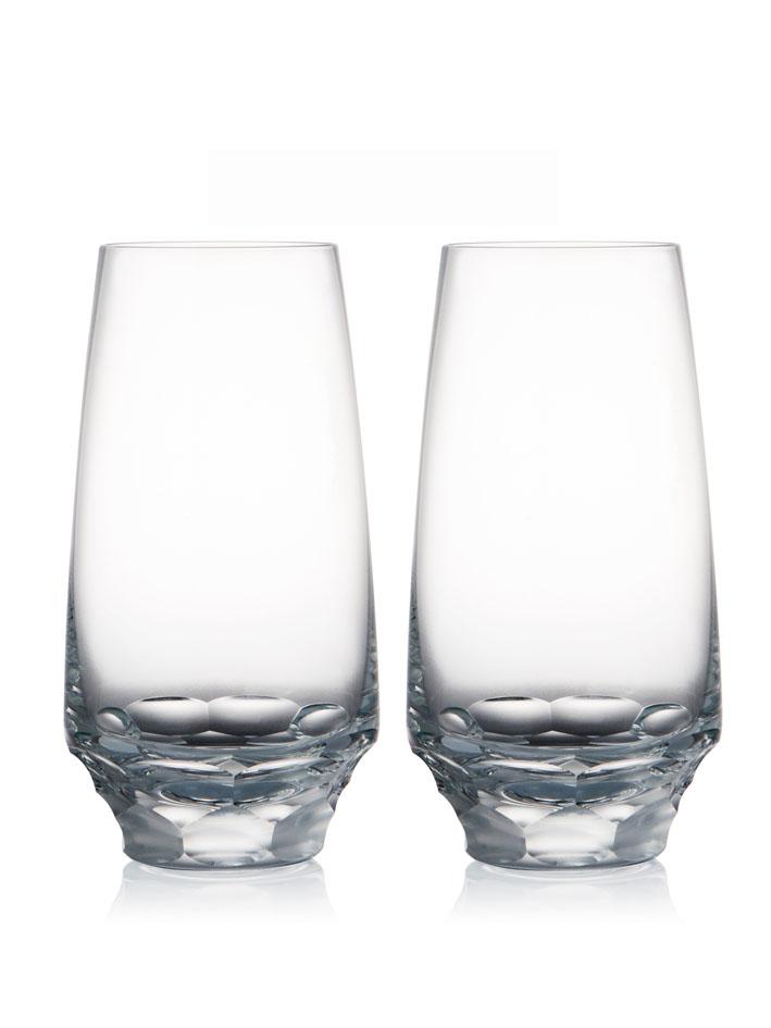 ROGASKA 水晶玻璃 BLOSSOM 華麗綻放 高水杯 2支裝