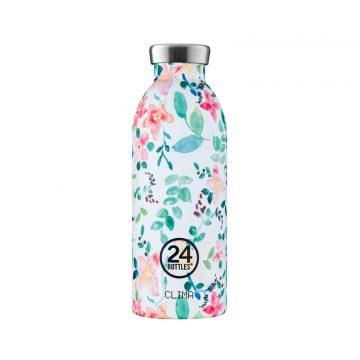 義大利 24Bottles 不鏽鋼雙層保溫瓶 500ml (花徑)