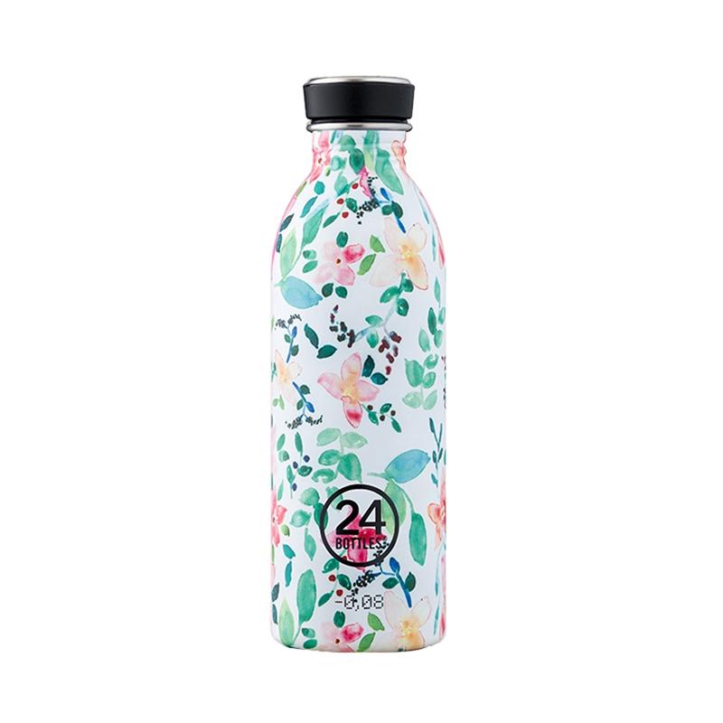 義大利 24Bottles 城市水瓶 500ml (花徑)
