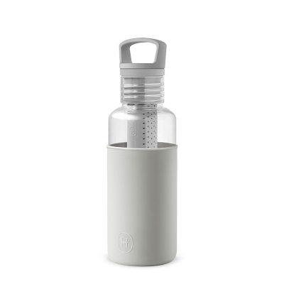 美國 HYDY 輕靚系列 透明冷水瓶 590ml 透明 (雲灰)