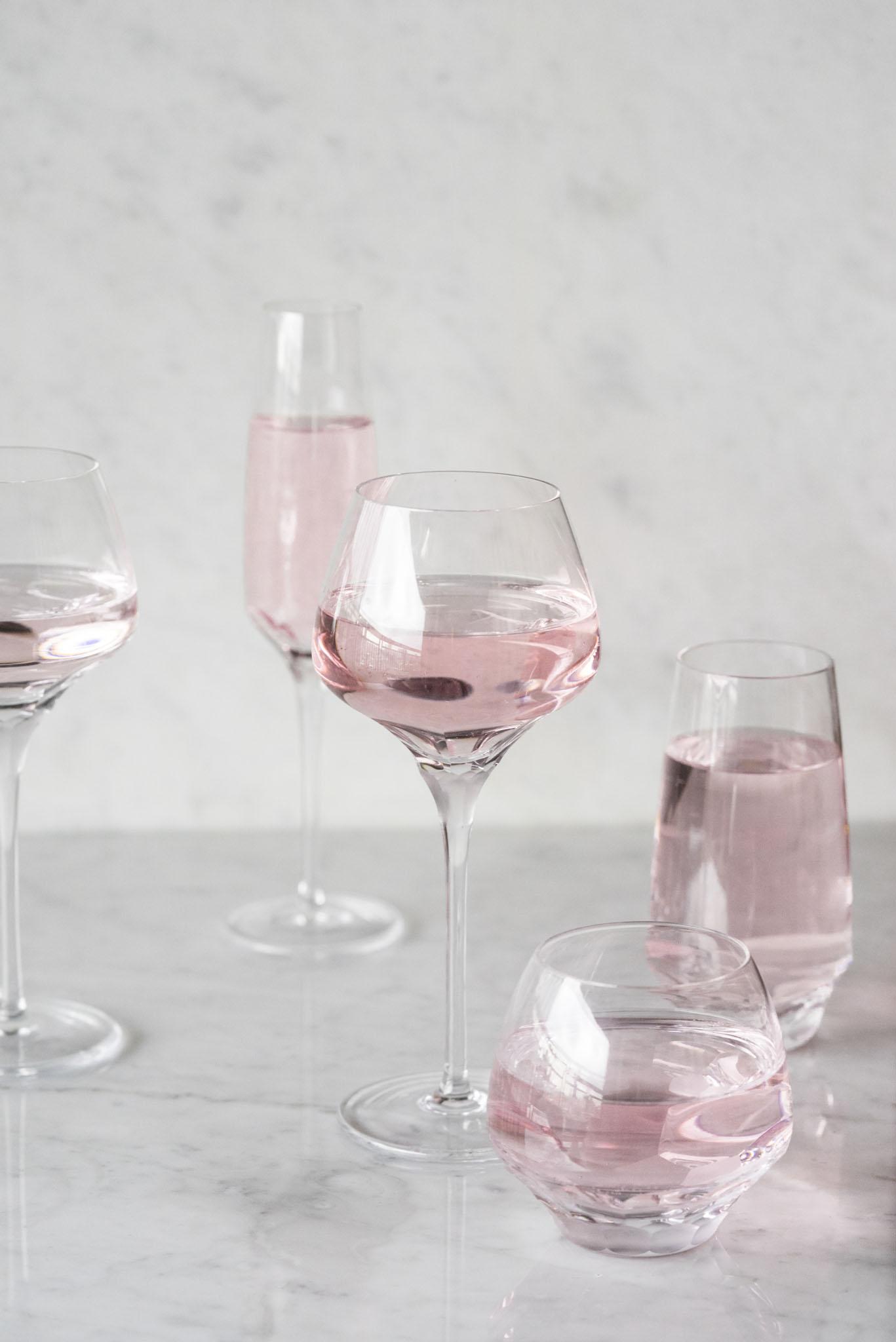 歐洲 ROGASKA 水晶玻璃 BLOSSOM 華麗綻放 白酒杯 2支裝