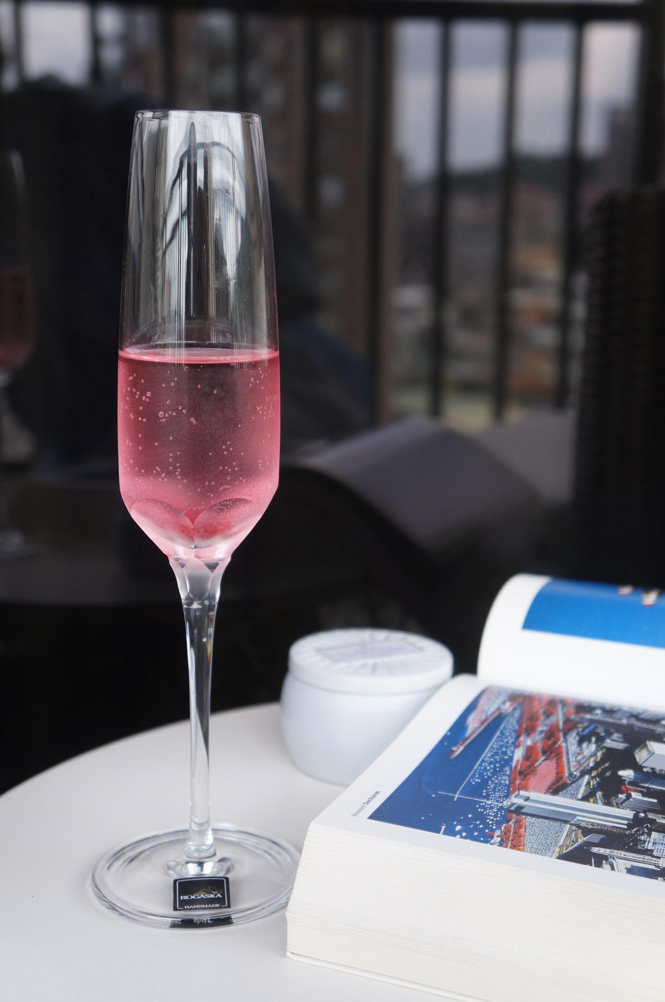 歐洲 ROGASKA 水晶玻璃 BLOSSOM 華麗綻放 香檳杯 2支裝