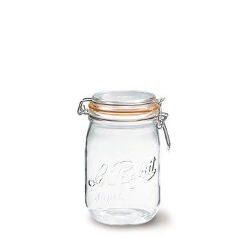 法國 Le Parfait 收納密封罐 經典系列 Bocal Super 1L