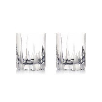 ROGASKA 水晶玻璃 FLAME 火焰之舞 威士忌杯 2支裝