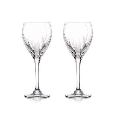 ROGASKA 水晶玻璃 FLAME 火焰之舞 白酒杯 2支裝