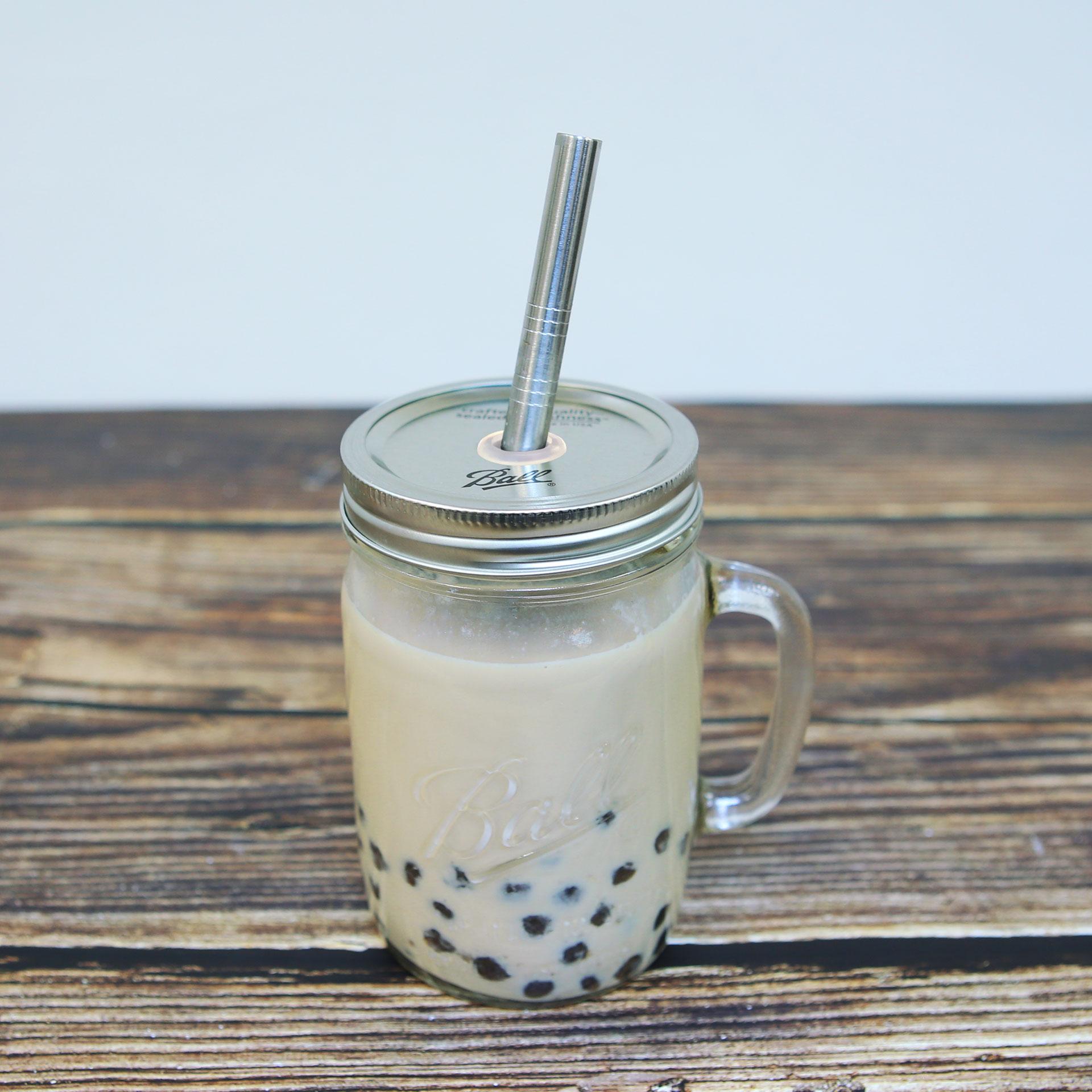美國 Ball 梅森罐 24oz寬口馬克杯 波霸奶茶必備手搖飲料杯
