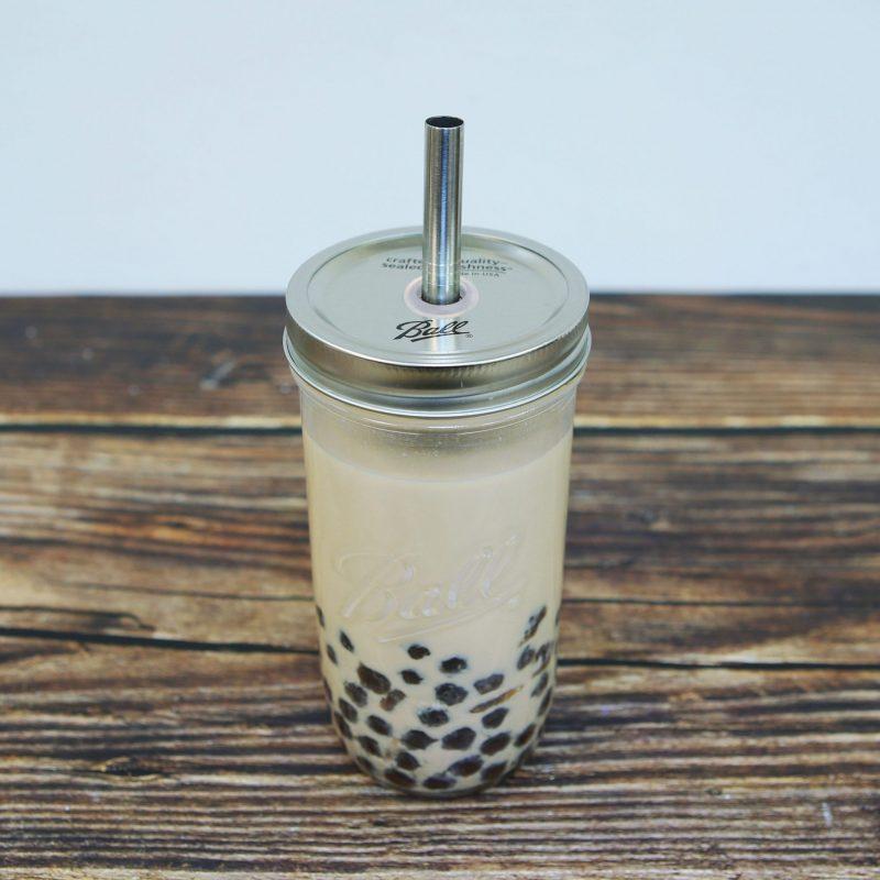 Ball 梅森罐 波霸奶茶粗吸管飲料杯 24oz寬口
