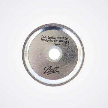 Ball 梅森罐 波霸奶茶粗吸管專用鐵片 (寬口)