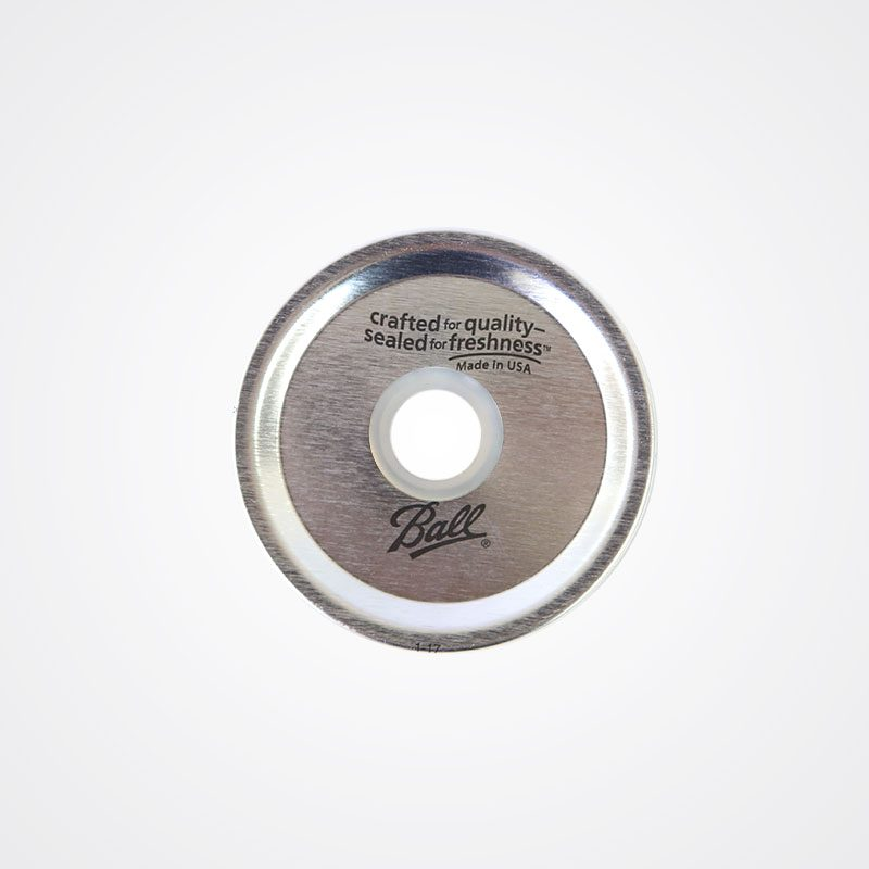 Ball 梅森罐 波霸奶茶粗吸管專用鐵片 (窄口)