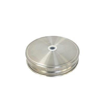 304不鏽鋼 吸管杯蓋 (寬口)