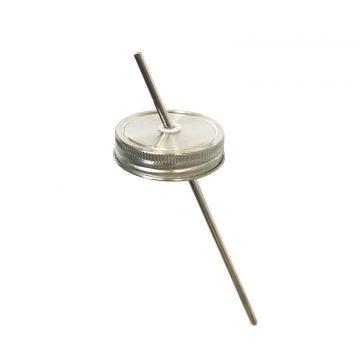 304不鏽鋼 吸管杯蓋組 (窄口)