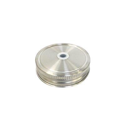 304不鏽鋼 吸管杯蓋 (窄口)
