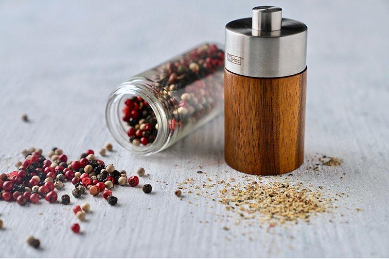 AdHoc 實木陶刀研磨罐禮盒組(不鏽鋼搭配實木) MP34