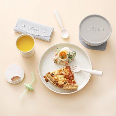 Miniware 小食客六入組禮盒 牛奶麥片