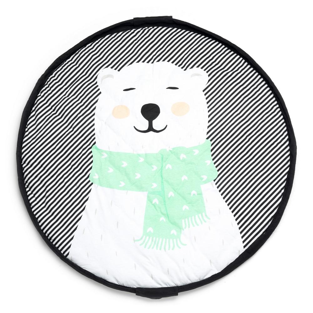 比利時 play & go 玩具整理袋 柔棉系列 (幸福北極熊)