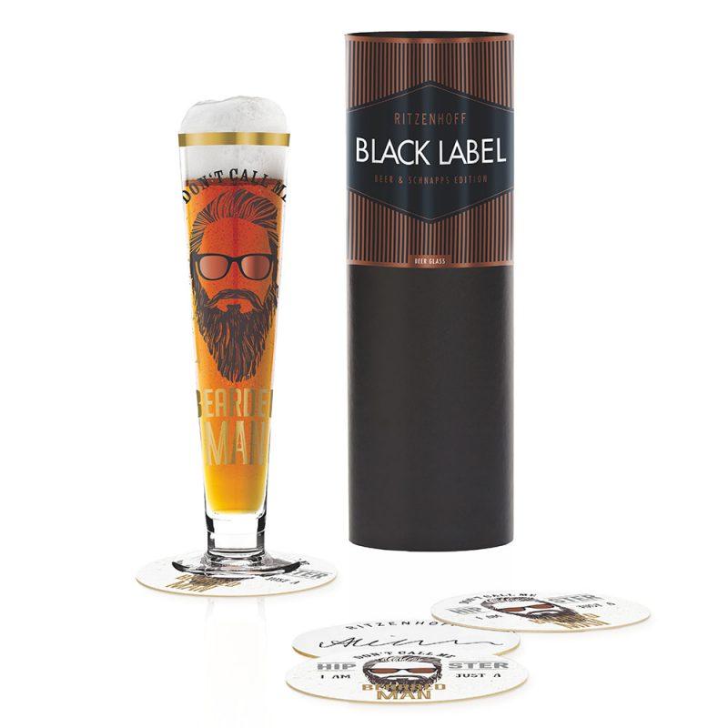 德國 RITZENHOFF BLACK LABEL 黑標經典啤酒杯-酷型男