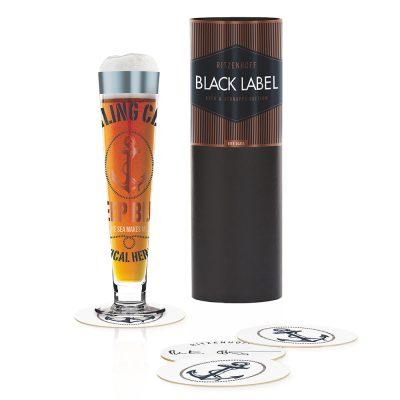 德國 RITZENHOFF BLACK LABEL 黑標經典啤酒杯-錨起來喝