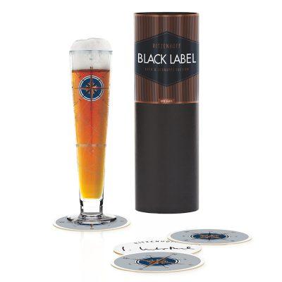 德國 RITZENHOFF BLACK LABEL 黑標經典啤酒杯-航海地圖