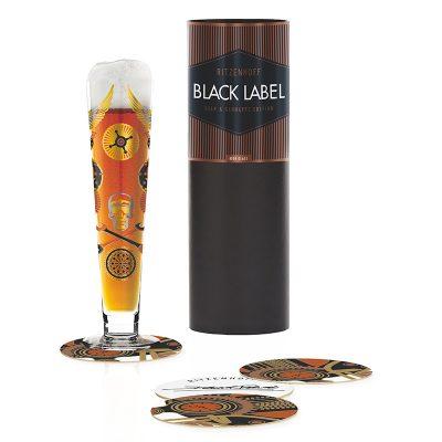 德國 RITZENHOFF BLACK LABEL 黑標經典啤酒杯-搖滾夜店