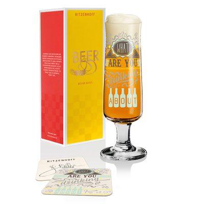 德國 RITZENHOFF BEER 新式啤酒杯-就要啤酒