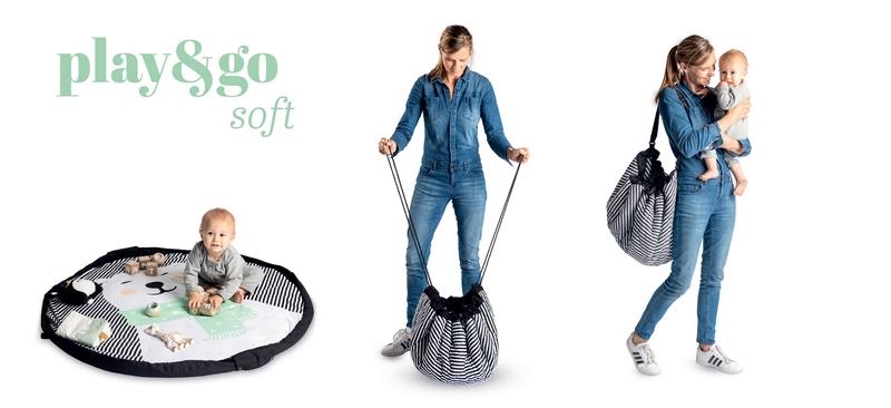 比利時 play & go 玩具整理袋 柔棉系列 (微笑羊駝)