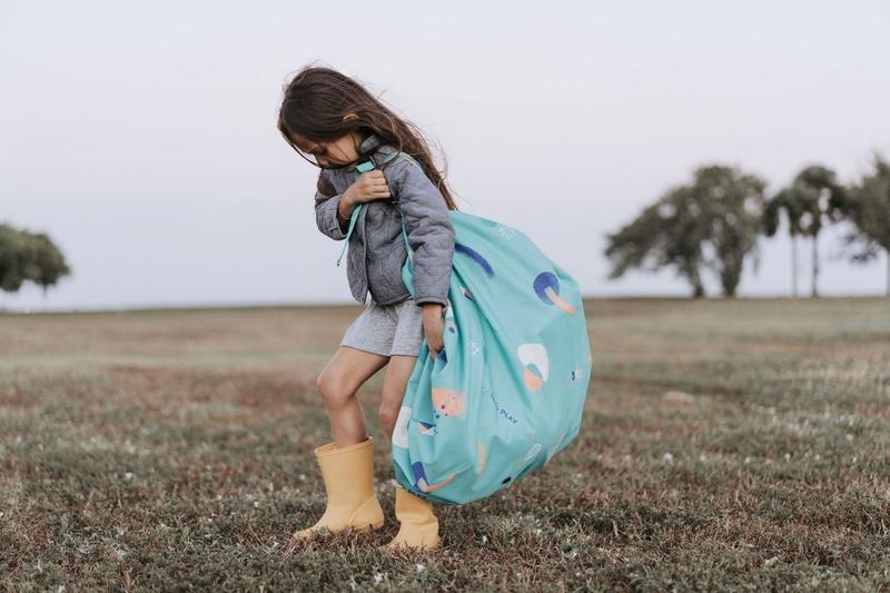 比利時 play & go 玩具整理袋 夏日趣 (防水)