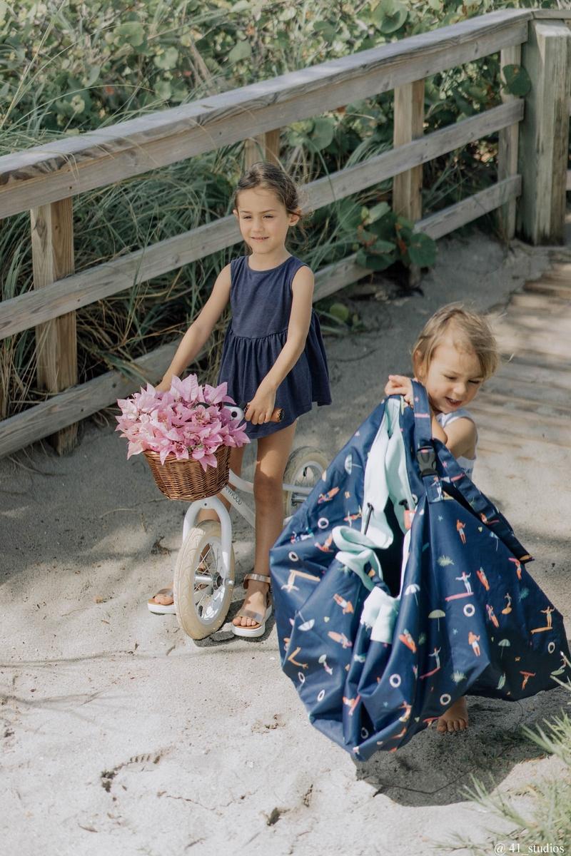 比利時 play & go 玩具整理袋 衝浪趣 (防水)