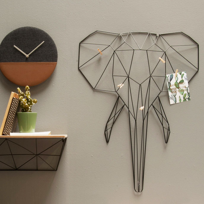 荷蘭 Present time MEMO 照片壁掛飾 (大象)