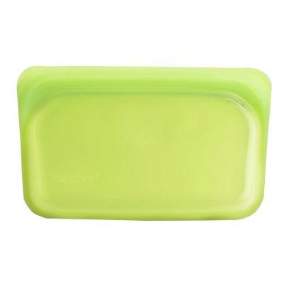 美國 Stasher 矽膠密封袋 長形 萊姆綠