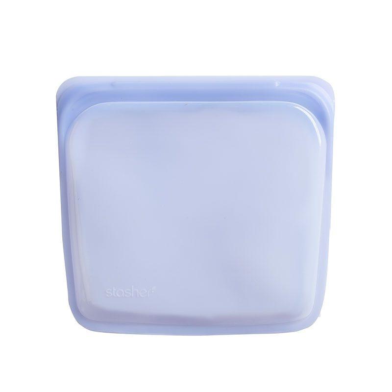 美國 Stasher 矽膠密封袋 方形 紫外光