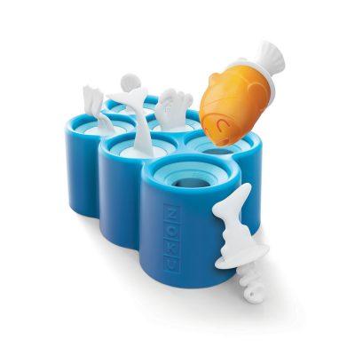 美國 ZOKU 小魚造型冰棒模具組 (6入)