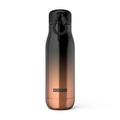 美國 ZOKU 設計款 真空不鏽鋼保溫瓶 500ml 漸層金