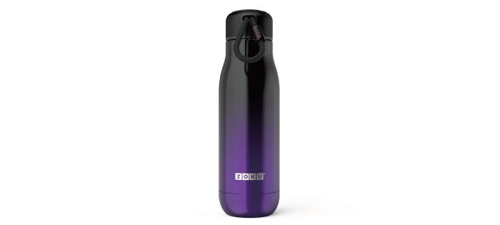 美國 ZOKU 設計款 真空不鏽鋼保溫瓶 500ml 漸層紫
