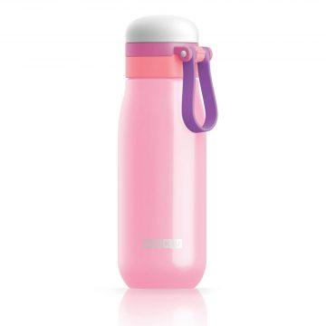 美國 ZOKU 輕量304不鏽鋼冷水壺 500ml 粉紅色