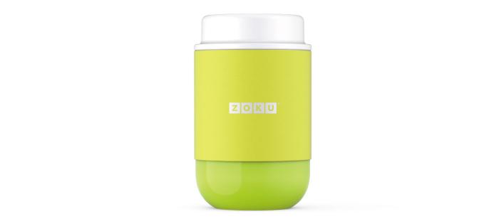 美國 ZOKU 真空304不鏽鋼 食物罐 475ml 萊姆綠