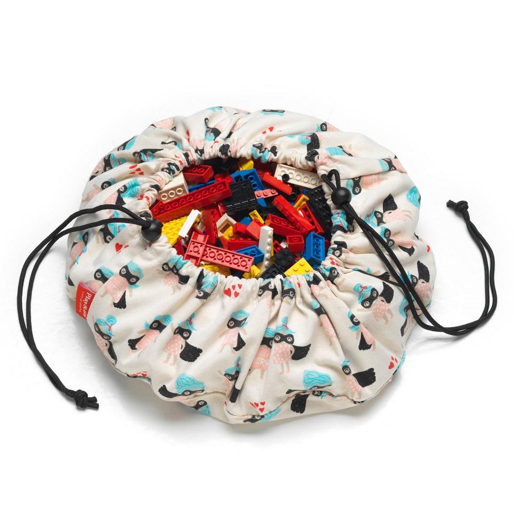 比利時 play & go 玩具整理袋 (迷你女超人)