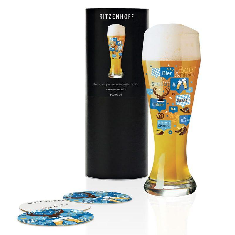 德國 RITZENHOFF WEIZEN 小麥胖胖啤酒杯-歡暢無限