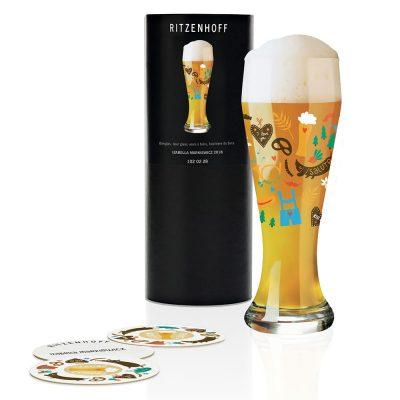 德國 RITZENHOFF WEIZEN 小麥胖胖啤酒杯-啤酒花園