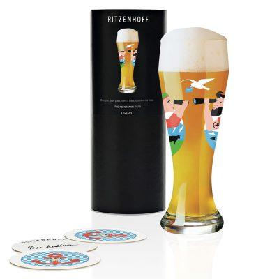 德國 RITZENHOFF WEIZEN 小麥胖胖啤酒杯-遙遠思念