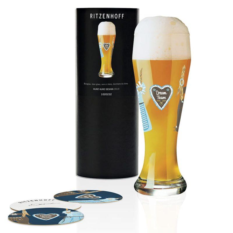 德國 RITZENHOFF WEIZEN 小麥胖胖啤酒杯-夢幻團隊