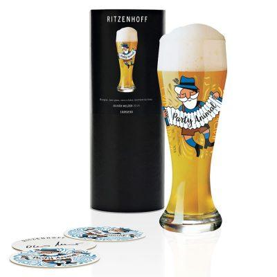 德國 RITZENHOFF WEIZEN 小麥胖胖啤酒杯-派對狂