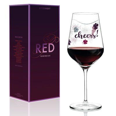 德國 RITZENHOFF RED 紅酒杯-舉杯