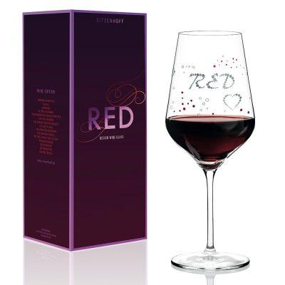 德國 RITZENHOFF RED 紅酒杯-醺然心動