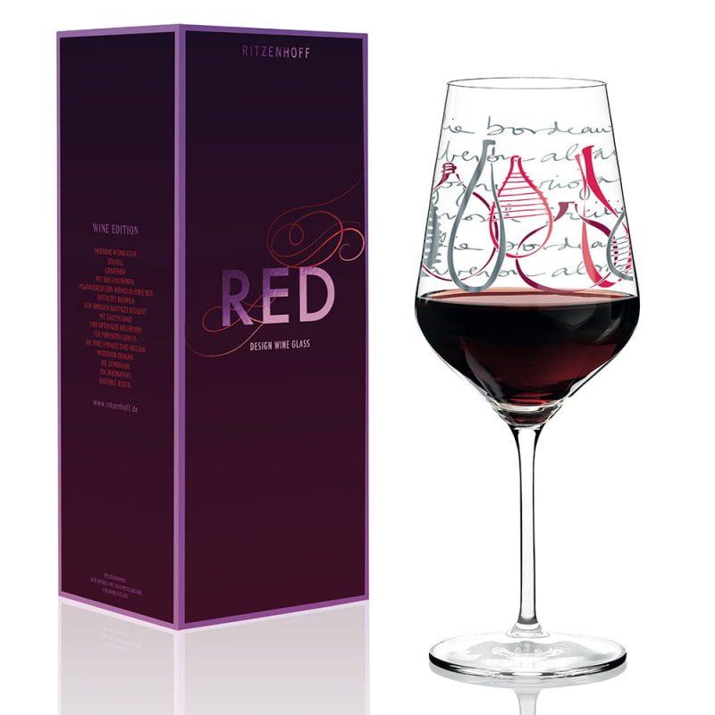 德國 RITZENHOFF RED 紅酒杯-紅酒樂章
